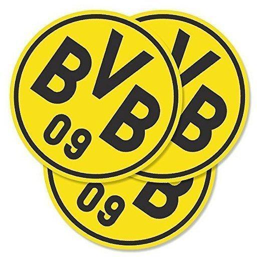 BVB Borussia Dortmund Borussia Bortmund BVB-Bierdeckel Emblem, 50 Stck.