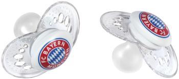 FC Bayern Schnuller 6-16 Monate, 2 Stück