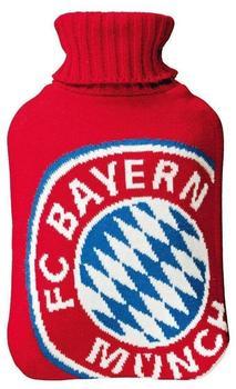 FC Bayern Wärmflasche Logo