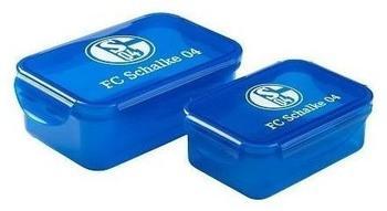 keine Angabe FC Schalke 04 Brotdosen-Set Signet