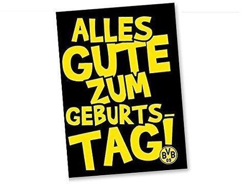 BVB Borussia Dortmund BVB-Geburtstags-Grußkarte