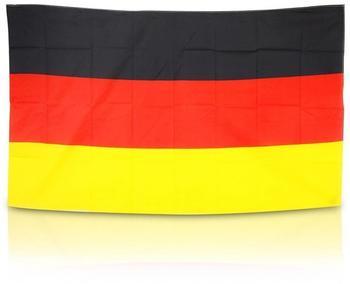FahnenMax MM Deutschland Fahne/Flagge im Großformat 150 x 90 cm