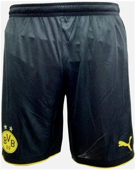 Puma Borussia Dortmund Herren Heim Short 2016/2017 black/cyber yellow L