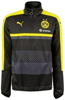 Puma Borussia Dortmund Herren Trainingsoberteil black/cyber yellow M