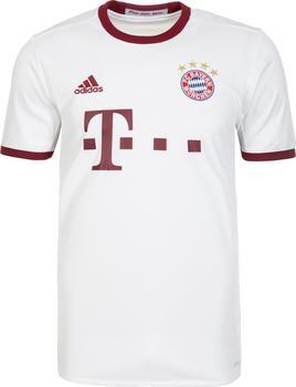 adidas FC Bayern München Herren UCL Trikot 2016/2017 white/light onix/collegiate burgundy XXL
