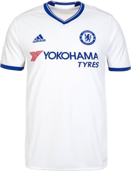 adidas FC Chelsea Trikot 3rd 2016 2017 Herren weiß blau Größe XXL