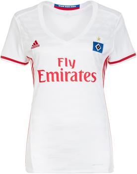 adidas Hamburger SV Damen Heim Trikot 2016/2017 white/scarlet XS
