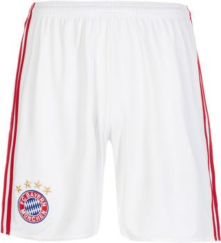 adidas FC Bayern München Herren Heim Shorts 2016/2017 white/fcb true red XS