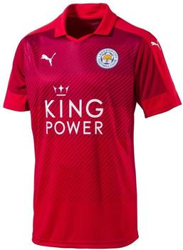 Puma Leicester City Away 2016/2017 Rot, 56/58