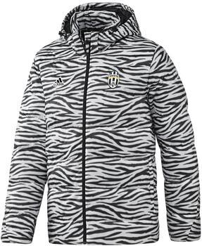 Adidas Juventus Turin Daunenjacke weiß