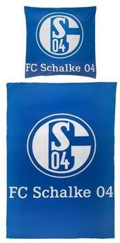 FC Schalke Bettwäsche Signet