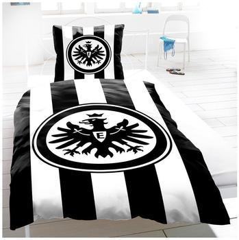 Eintracht Frankfurt Bettwäsche Konsequent 100% Baumwolle 2 tlg. 135x200 cm