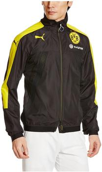 Puma Borussia Dortmund Herren Stadionjacke Vent Thermo-R puma black/cyber yellow M