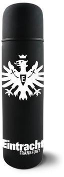 Eintracht Frankfurt Thermoskanne schwarz