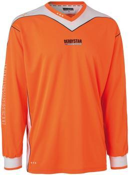 derbystar Brillant Torwarttrikot, Orange/Weiß, 164]
