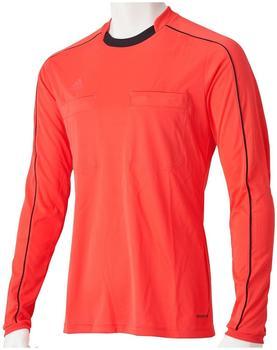 Adidas Referee 16 Trikot rot langarm Größe L