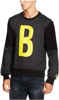 Puma Herren Sweatshirt BVB B Graphic Sweat, Dark Gray Heather, S