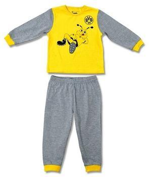bvb-borussia-dortmund-kleinkinder-schlafanzug-gelb-gr-74