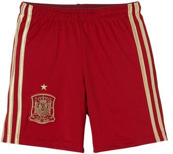adidas Kinder kurze Hose FEF Home Shorts Youth, Rot (Vicred/Lgfogo/Crared), 140, G85236