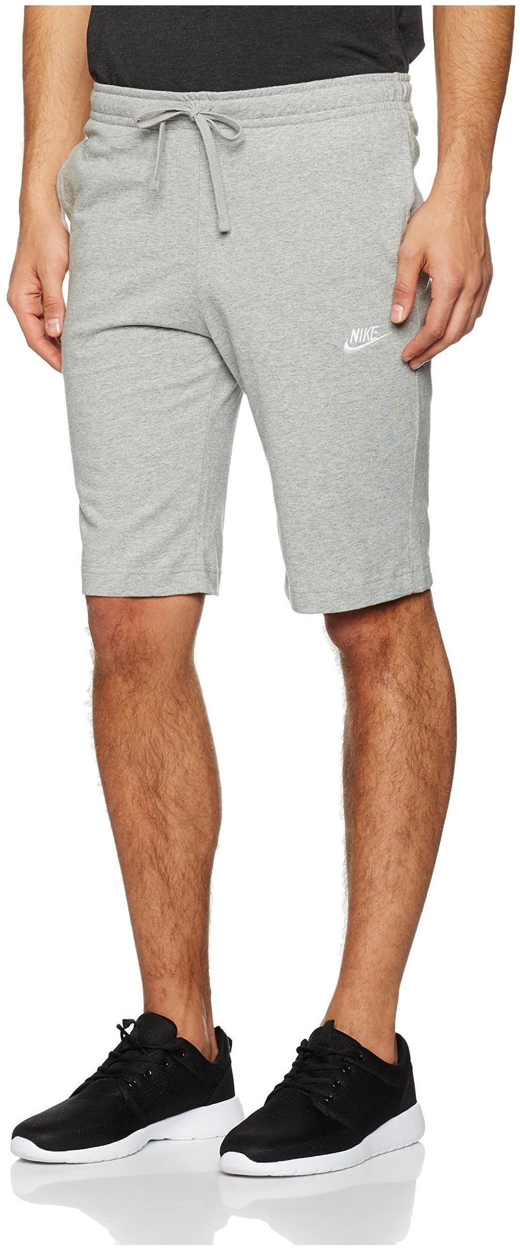 brand new 9e030 8099f Nike Nsw Short Jsy Club Shorts, Herren grau S