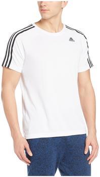 Adidas D2M 3-Streifen T-Shirt Männer Training