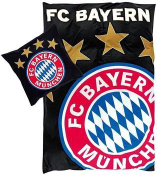 FC Bayern München, BETTWÄSCHE Glow in the Dark leuchtet bei Dunkelheit