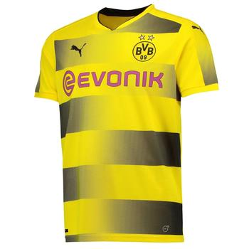 Puma Borussia Dortmund Damen Heim Trikot 2017/2018 cyber yellow/black M