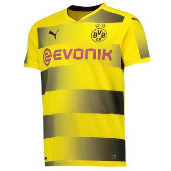 Puma Borussia Dortmund Herren Heim Trikot 2017/2018 cyber yellow/puma black XXXL