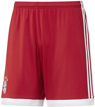 adidas FC Bayern München Herren Heim Short 2017/2018 true red/white XL