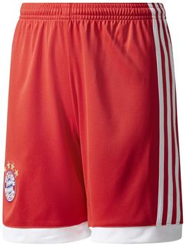 adidas FC Bayern München Kinder Heim Shorts 2017/2018 fcb true red/white Gr. 164