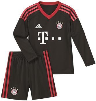Adidas FC Bayern München Home Torwart-Mini-Kit 2017/2018