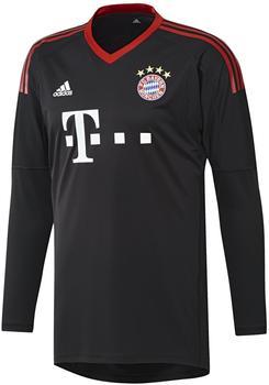 adidas FC Bayern München Herren Torwart Trikot 2017/2018 black/fcb true red/white M