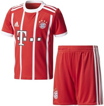 adidas FC Bayern München Kinder Heim Mini Kit 2017/2018 fcb true red/white Gr. 92
