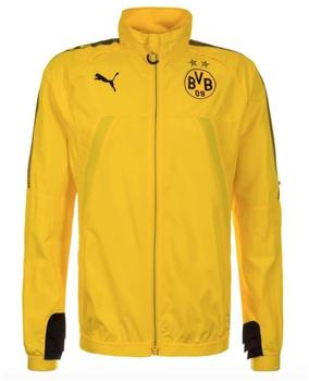 Puma BVB Vent Thermo-R Stadionjacke gelb