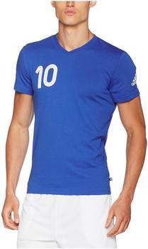 adidas Performance Messi Tanip Tee Shirt, blau L