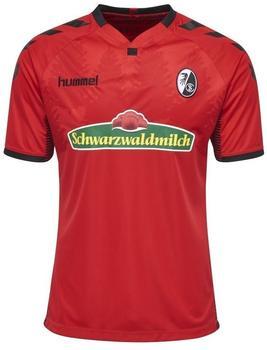 Hummel SC Freiburg Kinder Heim Trikot 2017/2018 rot/schwarz Gr. 164