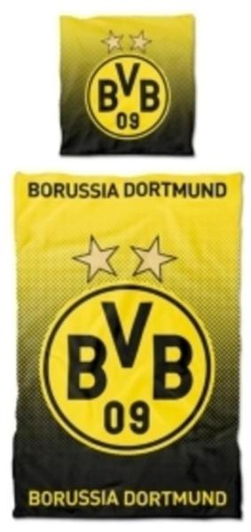 BVB Borussia Dortmund Bettwäsche 80x80+135x200cm
