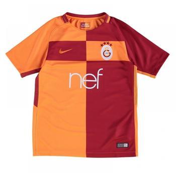 Nike Galatasaray Istanbul Kinder Heim Trikot 2017/2018 rot/orange Gr. 147-158