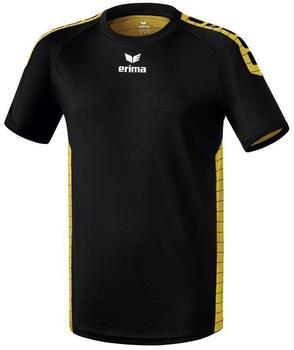 ERIMA Sevilla indoor jersey short sleeve black/yellow, XXL