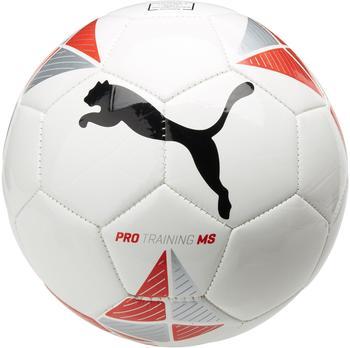 Puma Pro Training MS white/team red/metallic silver/black 5