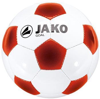 Jako Goal Classico MS weiß/rot/orange/schwarz 5
