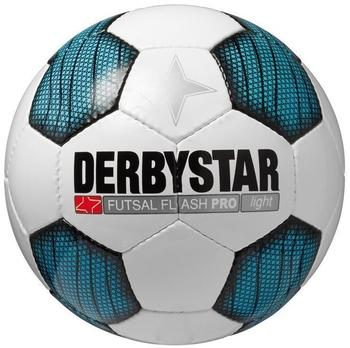 derbystar Futsal Flash Pro Light weiß/blau/schwarz 4