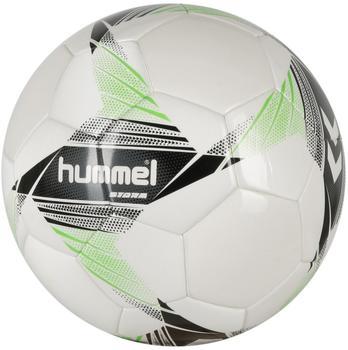 hummel Storm white/black/green 5
