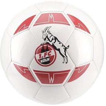 Erima 1. FC Köln Fanball weiß/rot 5