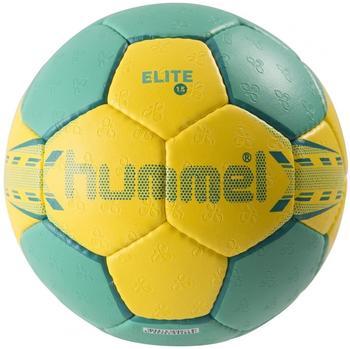 hummel 1.5 Elite Handball Ball grün/gelb,