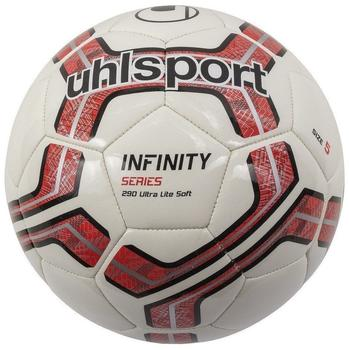 uhlsport-infinity-290-ultra-lite-soft-rot-schwarz-groesse-5