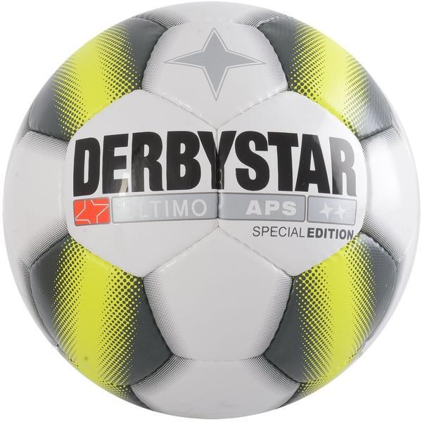 Derbystar Ultimo APS Special Edition weiß/schwarz/gelb