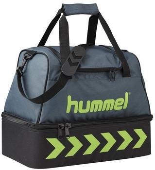 Hummel Authentic Soccer Bag S dark slate/green flash