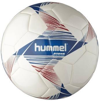 hummel Storm Ultra Light Football - white/blue/red, 3