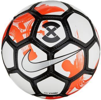 Nike FootballX Clube Futsal white/total crimson/silver 5